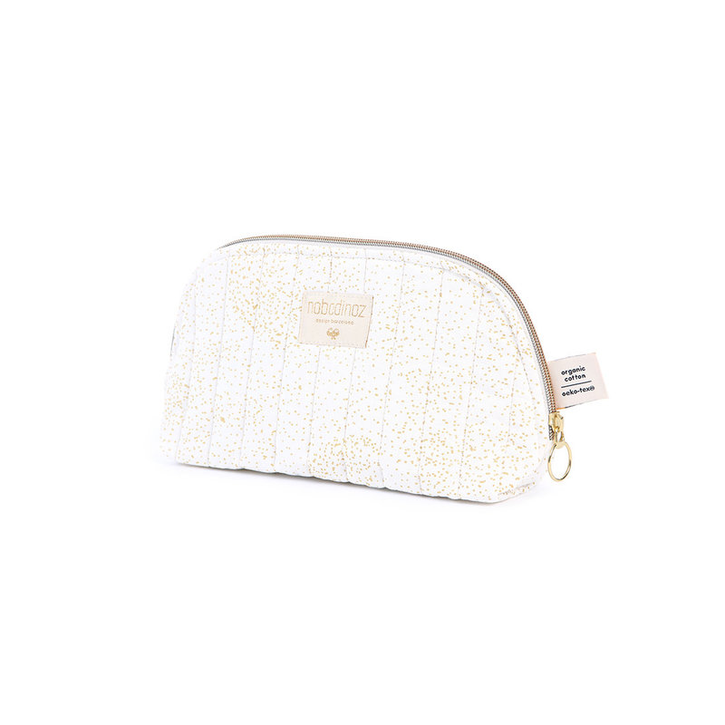 Trousse de toilette Holiday S Gold Bubble / White