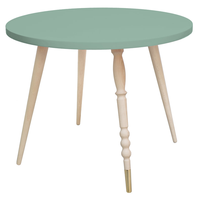 Table basse My Lovely Ballerine vert cuivre - Ht 47 cm