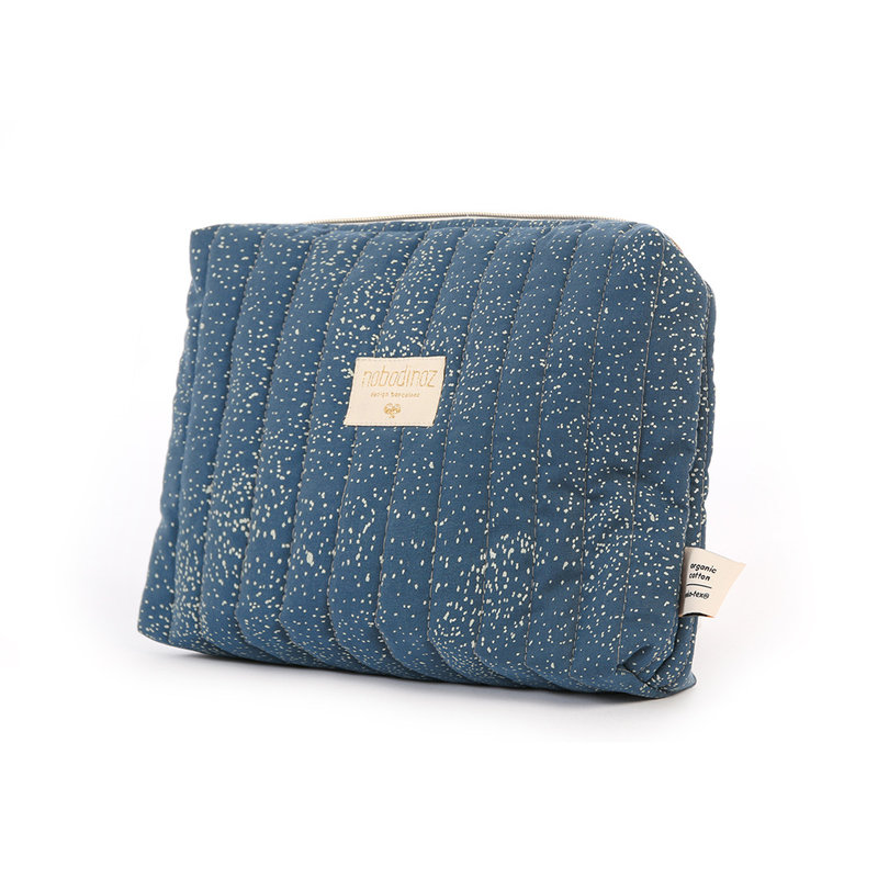 Trousse de toilette Travel Gold Bubble / Night Blue