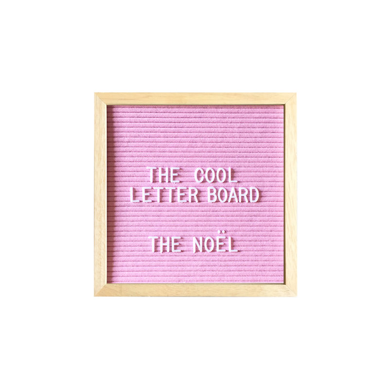 Letterboard The Noël rose